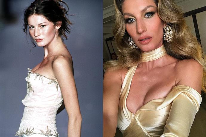 **2. Gisele Bündchen** <br><br> Bündchen was discovered at 14 years old while eating at a McDonalds restaurant in São Paulo, Brazil, and is remembered as one of the most iconic Victoria's Secret models of all time. She topped *Forbes*' annual list of the world's highest-paid models from 2002 to 2017, until Kendall Jenner nabbed the top spot. <br><br> ***Net worth: $400 million***