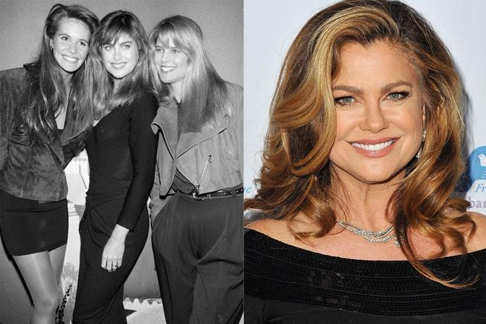 "**1. Kathy Ireland** <br><br> Ireland might be the dark horse of this list, but her enormous wealth makes her the richest supermodel in the world. Since appearing in the *Sports Illustrated* Swimsuit Issue for 13 consecutive years, she's gone on to become a best-selling author, and owns her own marketing company, [kathy ireland Worldwide](http://kathyireland.com/|target=""_blank""