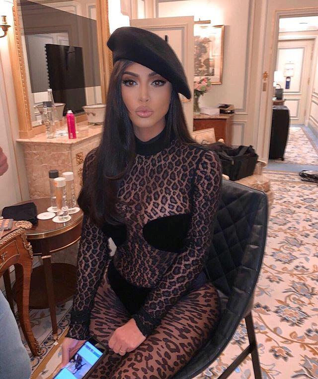 *Instagram @kimkardashian*