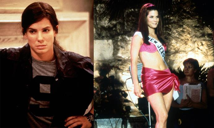 ***Miss Congeniality*** <br><br> One of the all-time great makeover movies, this hilarious comedy/action flick follows Gracie Hart (Sandra Bullock), an FBI agent with no time or energy for fashion and beauty, who's forced to go undercover at a beauty pageant ... as a competitor.