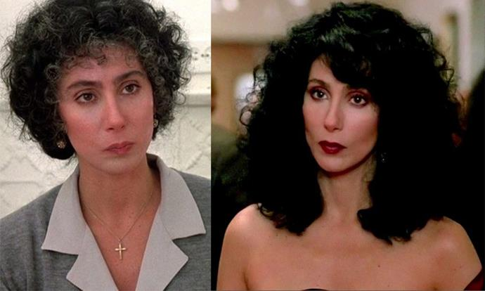 ***Moonstruck*** <br><br>  In her Oscar-winning role in this 1987 rom-com, Cher plays a woman who transforms from a dowdy housewife into a full-blown glamazon, after falling for her fiancé's younger brother (played by Nicholas Cage).