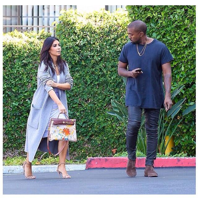 "***Kim Kardashian West*** <br><br> Also, who could forget the time West gifted his wife an Hermès Herbag (basically a canvas equivalent of the Birkin) hand-painted by her daughter, North West? <br><br> *Image: [@kimkardashian](https://www.instagram.com/p/vPJMGxuS8x/|target=""_blank""
