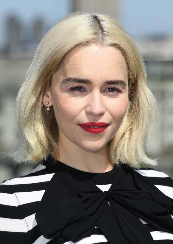 """***The Chelsea-Girl Bob***<br><br> Want the look? Kevin advises... <br><br> """"Prep with [a beachy hair spray](http://kevinmurphy.com.au/product/hair-resort-spray/