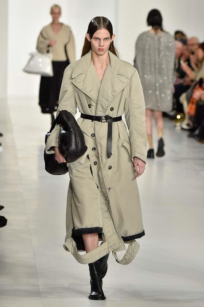 ***The New Trench***<br><bR> From quilting to patterns and a touch of leather, the trench is getting a facelift for 2019.<br><br> Maison Margiela autumn/winter '19.