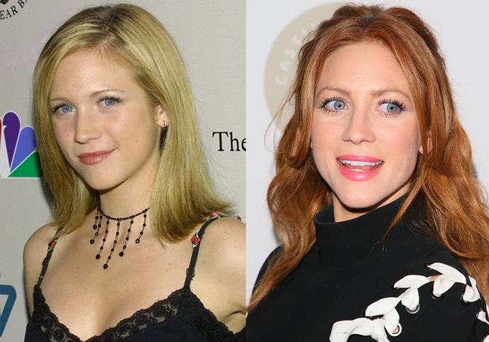 ***Brittany Snow*** <br><br> 33-year-old Snow has tried out plenty of different hair colours throughout her career, with red being the latest. However, many forget the actress's natural hair is a darker shade of blonde (or 'bronde')—which likely won her her star-making role in 2007's *Hairspray*, playing the daughter of iconic blonde Michelle Pfeiffer.