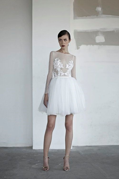 "**France: 'Short wedding dress'** <br><br> French women are known for their relaxed, effortless approach to dressing, so why would their bridal look be an exception? They're on the hunt for mini wedding dresses perfectly suited to turning their nuptials into a night out.  <br><br> *Image: [Pinterest](https://www.pinterest.com.au/pin/343188434095350312/|target=""_blank""