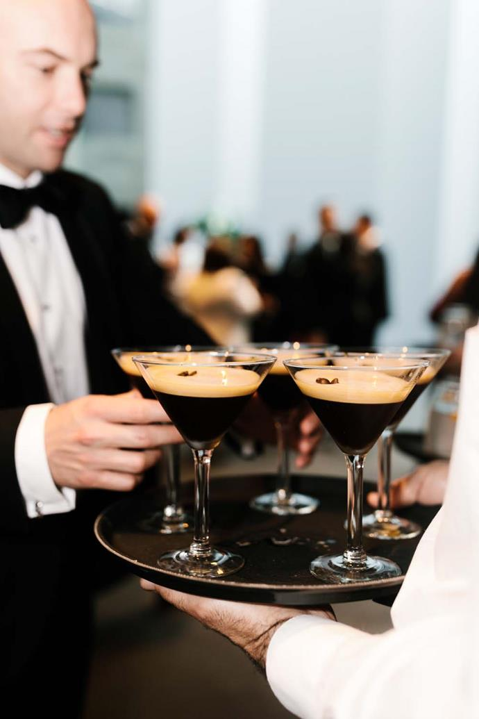 ***On the drinks:*** We had espresso martinis on arrival, beautiful wine, Prosecco and spirits available.