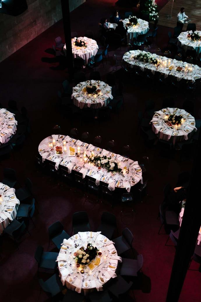 ***On the style of the reception:*** Canapés for pre-dinner drinks and sit down for the reception.