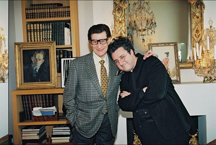 Alber Elbaz with Yves Saint Laurent, 2001