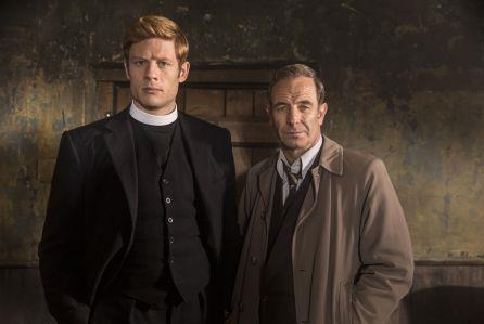 """**Grantchester** <br><br> *Granchester* is a detective mystery drama series that's packed with alluring crime, murders and a handsome vicar Sidney Chamber played by [James Norton](https://www.imdb.com/name/nm3584268/
