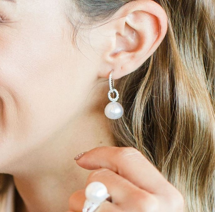 """**A Pearl Drop Earring** <br><br> Diamond's may be a girl's best friend, but pearls are her favourite relative. Reliable, classic and forever chic, opt for a drop earring for an extra ounce of glam, and add or remove diamonds depending on how blinged-up you'd like to get. <br><br> *Image: Instagram/[@kailisjewellery](https://www.instagram.com/p/BtaEKunokXT/ target=""""_blank"""" rel=""""nofollow"""")*"""