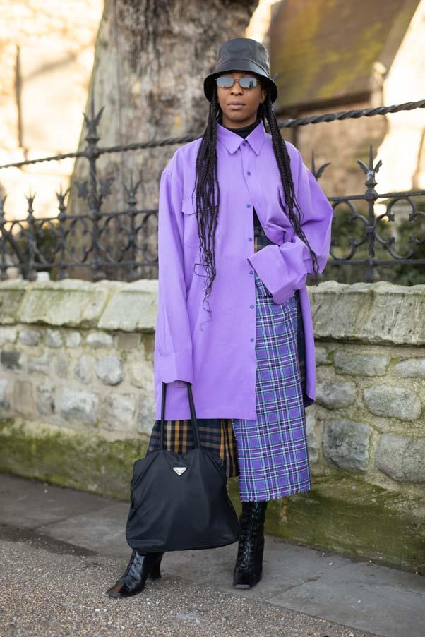 At London Fashion Week <br><br> Image: Getty
