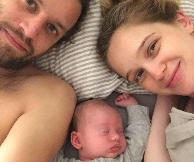 **Rosie Tupper** <br><br> The Australian model and her husband, musician Sam Margin, welcomed daughter Mozes Tupper in August 2018, after tying the knot on January 18, 2018.