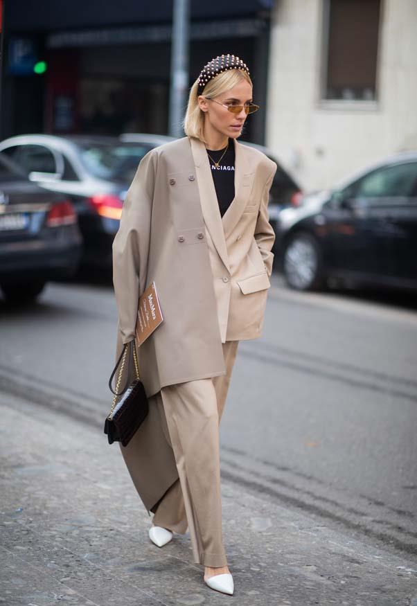 At Milan Fashion Week <br><br> Image: Getty