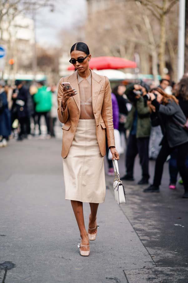 At Paris Fashion Week <br><br> Image: Getty