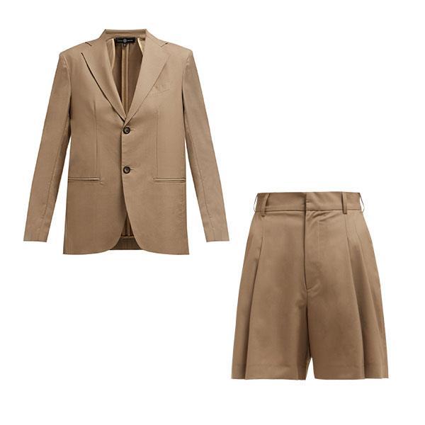 "**Buy:** <br><br>[Blazer, $1,470](https://www.matchesfashion.com/au/products/Edward-Crutchley-Single-breasted-wool-blazer-1258389|target=""_blank""|rel=""nofollow"") and [shorts, $787](https://www.matchesfashion.com/au/products/Edward-Crutchley-Wide-leg-tailored-wool-shorts-1258388|target=""_blank""|rel=""nofollow"") by Edward Crutchley at MATCHESFASHION.COM"