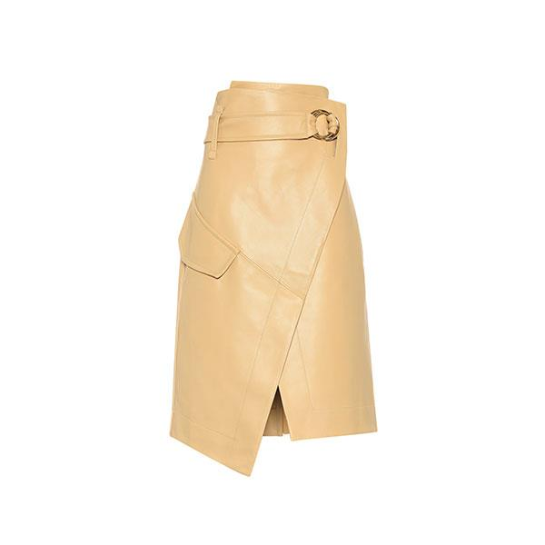 "**Buy:** <br><br>Skirt by Petar Petrov, $1,985 at [MyTheresa](https://www.mytheresa.com/en-au/petar-petrov-rita-leather-skirt-1144859.html?catref=category|target=""_blank""|rel=""nofollow"")"