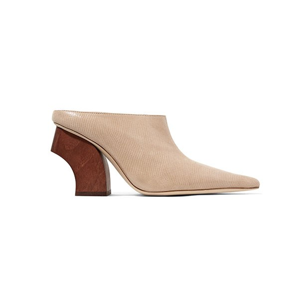 "**Buy:** <br><br>Shoe by Rejina Pyo, $710 at [Net-a-Porter](https://www.net-a-porter.com/au/en/product/1111232/rejina_pyo/yasmin-lizard-effect-leather-mules|target=""_blank""