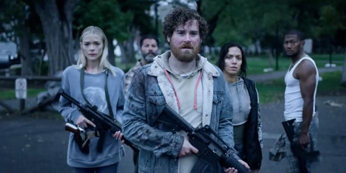 ***Black Summer*** <br><br> The quintessential zombie apocalypse series, *Black Summer* stars Jaime King as a mother separated from her daughter who embarks on a harrowing journey to reunite with her, alongside a group of fellow survivors.