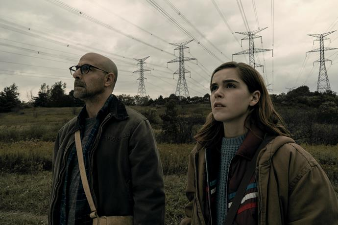 "***The Silence***  <br><br> In the same vein as *Bird Box* and *A Quiet Place*, *The Silence*, which stars Stanley Tucci and Kiernan Shipka, follows a family struggling to survive in a world terrorised by monsters who hunt with their hearing. Shipka plays a deaf girl who might be their one shot at survival, according to *[Variety](https://variety.com/2017/film/news/kiernan-shipka-the-silence-global-road-1202641769/|target=""_blank""
