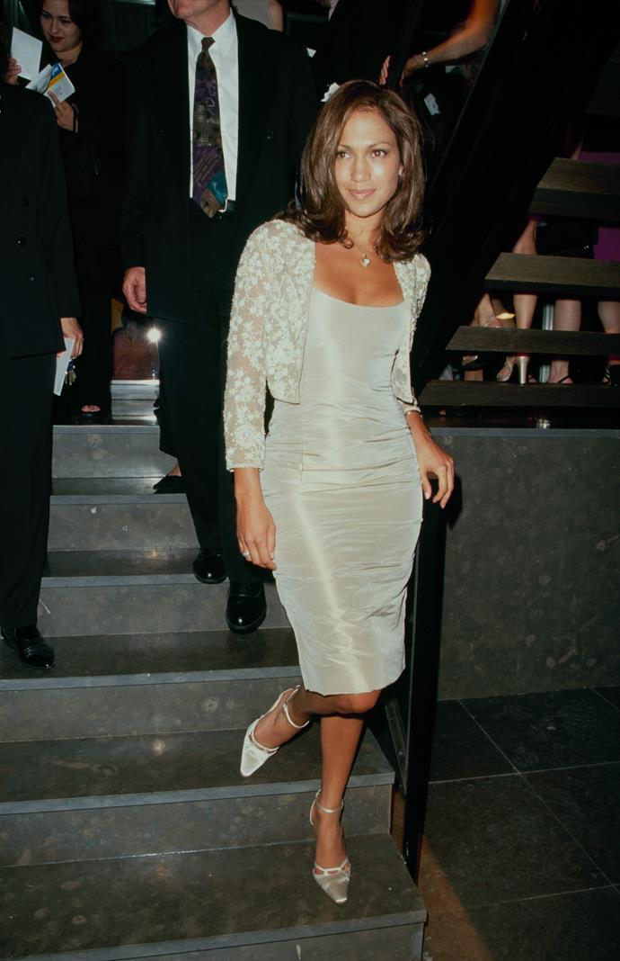 Jennifer Lopez in 1990.