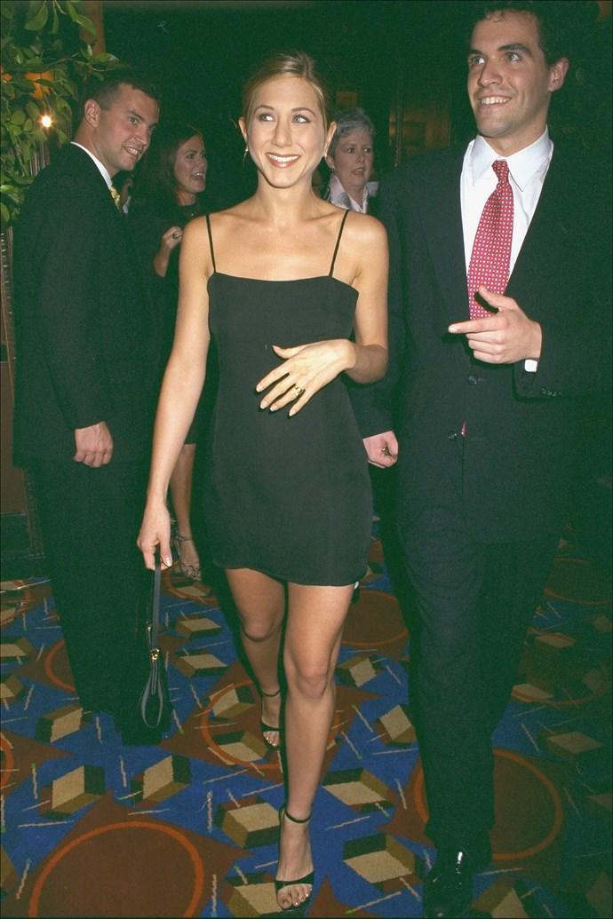 Jennifer Aniston in 1997.