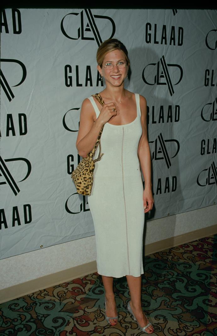 Jennifer Aniston in 1998.