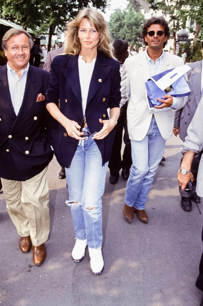 Claudia Schiffer in 1993.