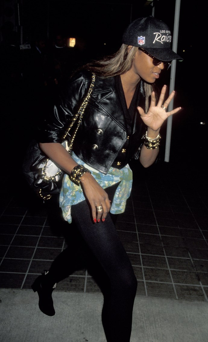 Naomi Campbell in 1991.
