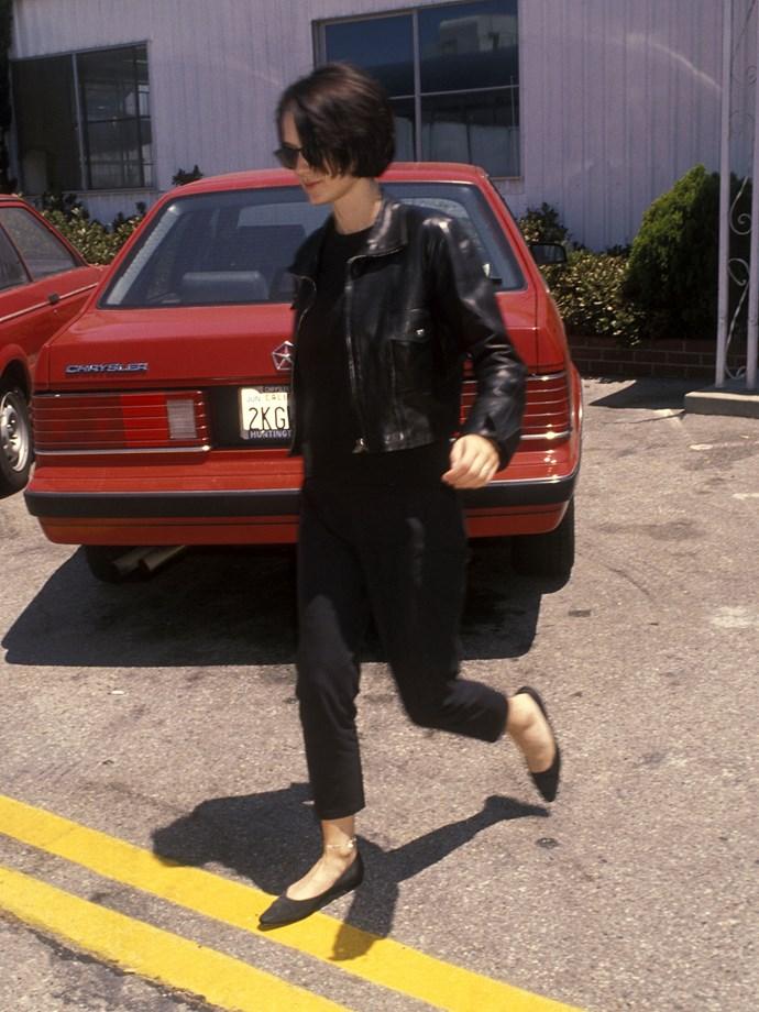 Winona Ryder in 1990.