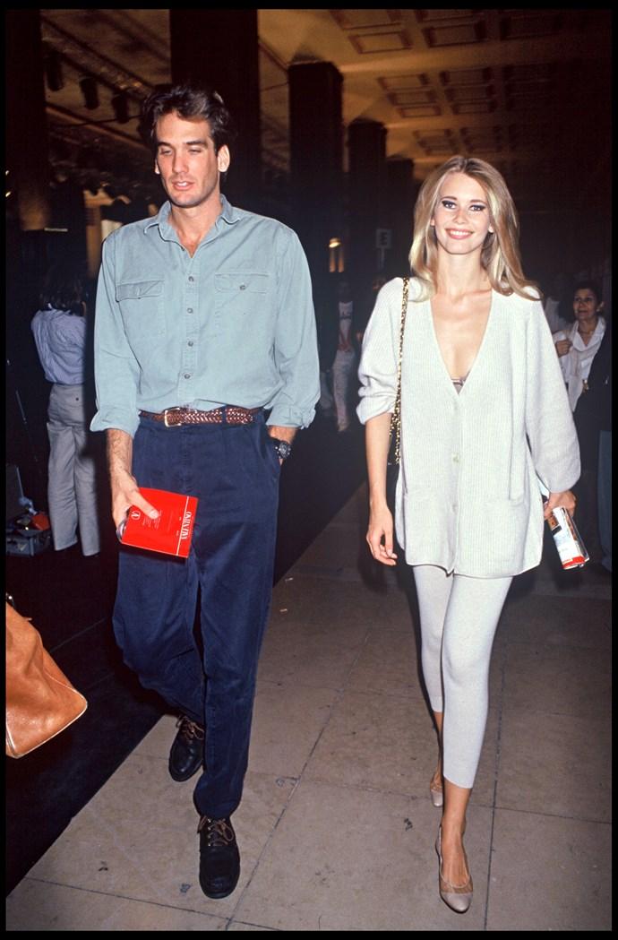 Claudia Schiffer in 1992.