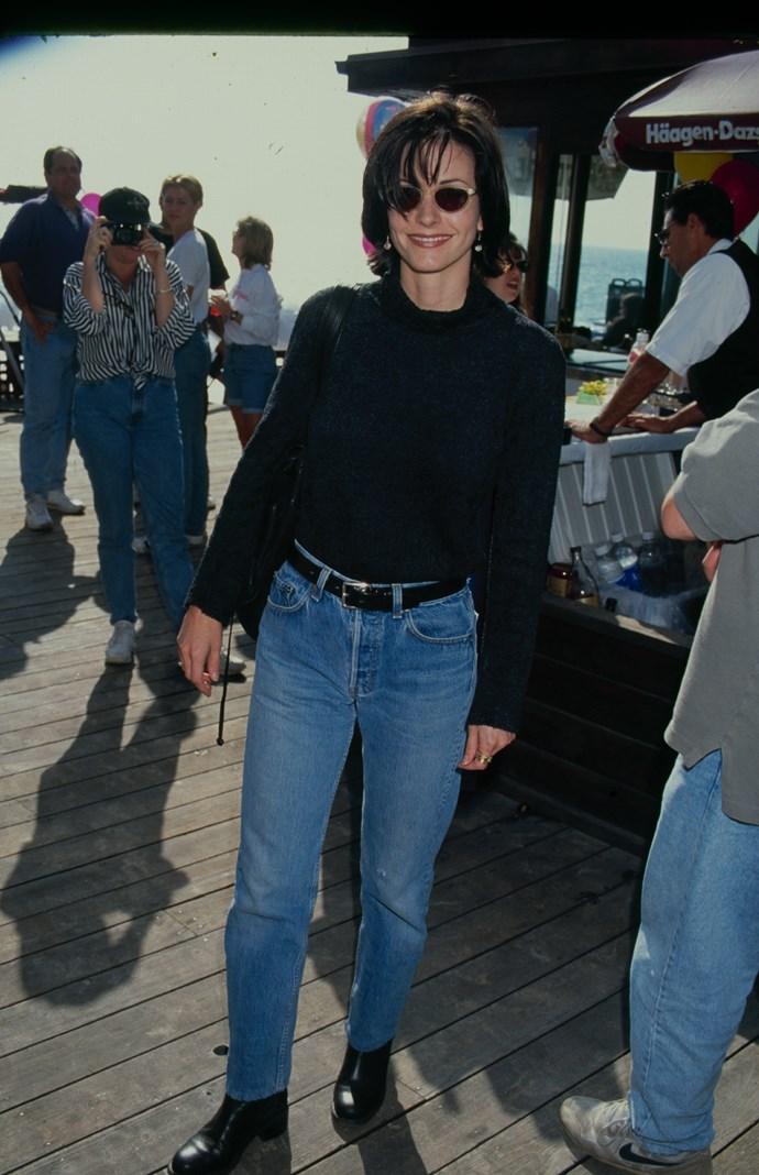 Courteney Cox in 1995.