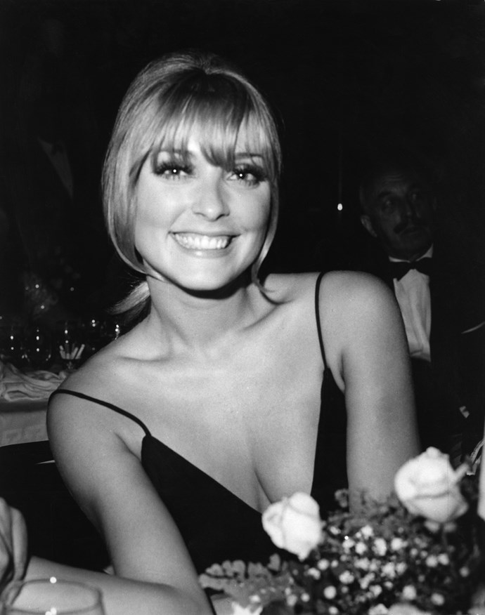 A fresh-faced beauty look with a fringe in 1965.