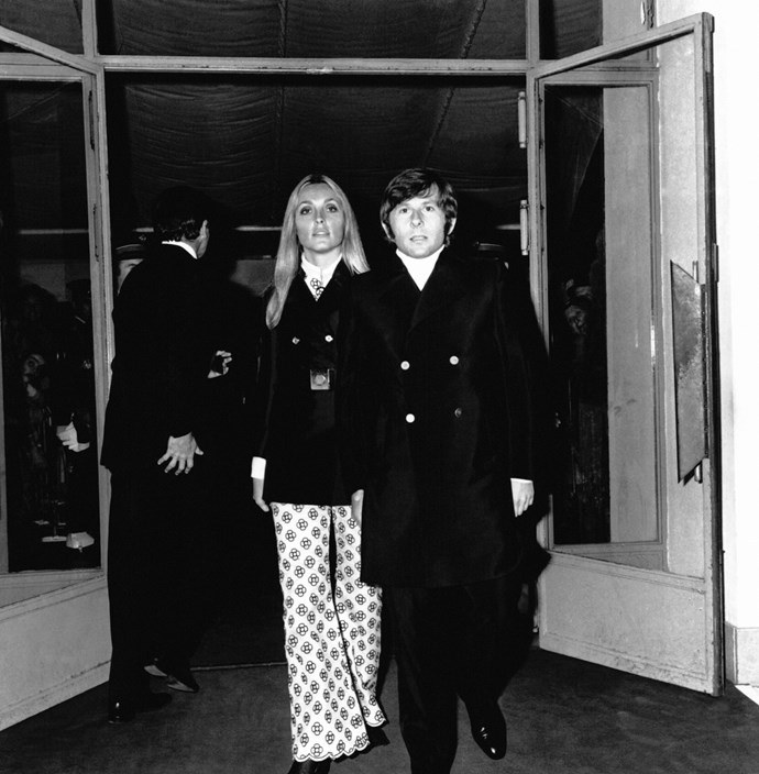 In Cannes with Polanski in 1968.