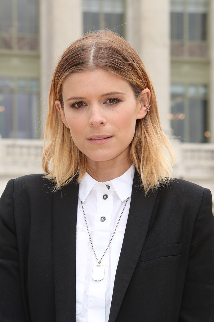 **BERRY BLONDE** <br><br> Kate Mara <br><br> *Image: Getty*