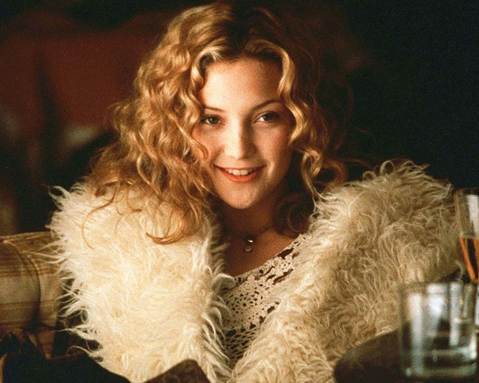 Although there isn't much to Penny Lane's no-makeup-makeup in *Almost Famous*, her devil-may-care curls are iconic.
