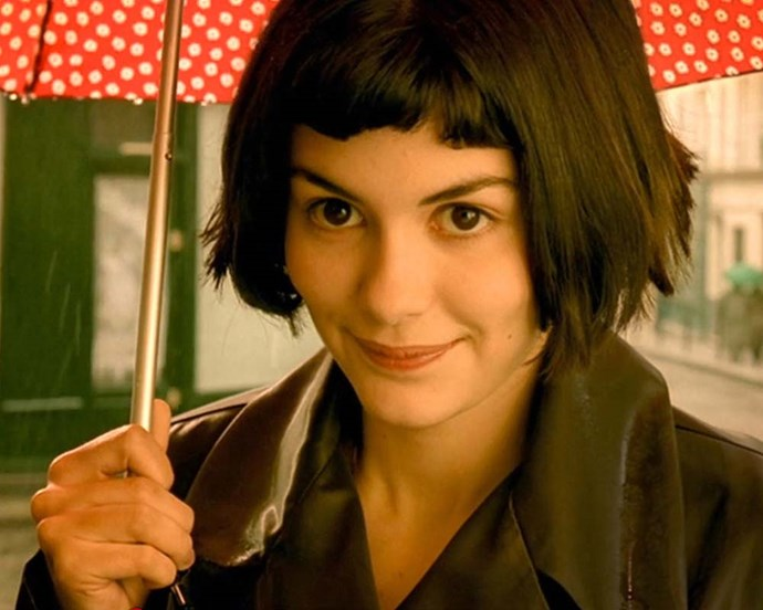 French cult classic *Amélie* helped popularise this particular iteration of the quirky French bob.