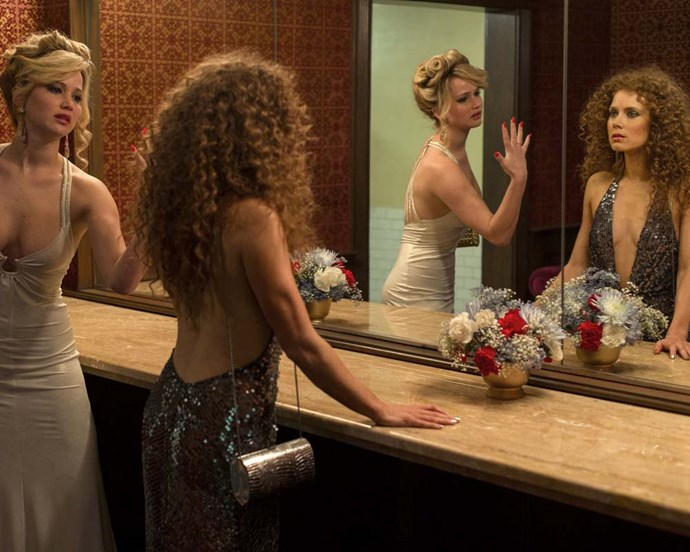From Jennifer Lawrence's voluminous bouffant to Amy Adams' wild perm, *American Hustle* is full of great nods to '70s beauty.