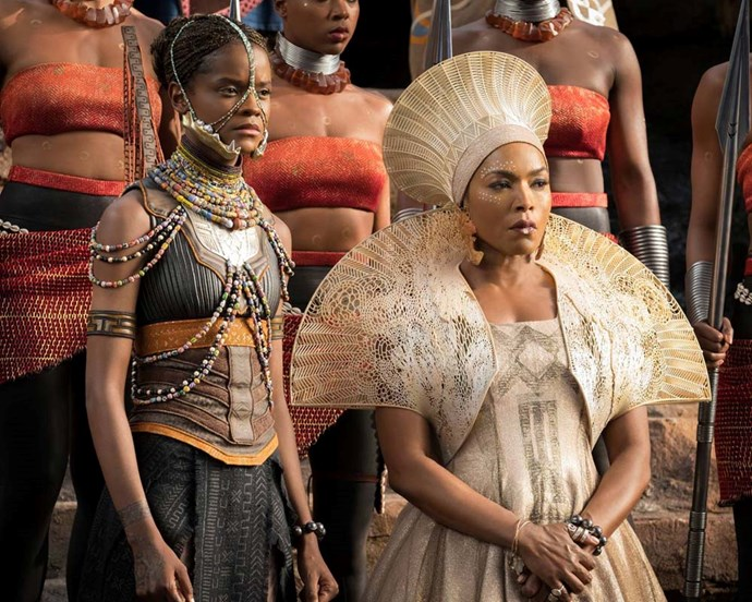 *Black Panther* became one of the first films to embrace Afrofuturism, blending cultural history with modern aesthetics.