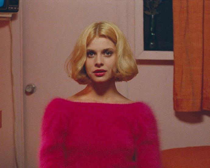 Rumour has it that Lucy Boynton's now-famous bob was inspired by Nastassja Kinski in *Paris, Texas.*