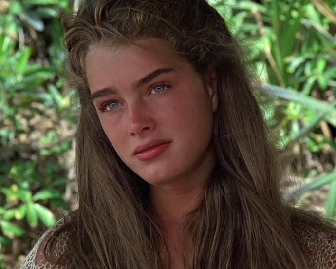 Brooke Shield somehow managed to make a marooning look chic. Her undone hair and *those* brows in *The Blue Lagoon* (1980) will forever inspire our no-makeup-makeup looks.
