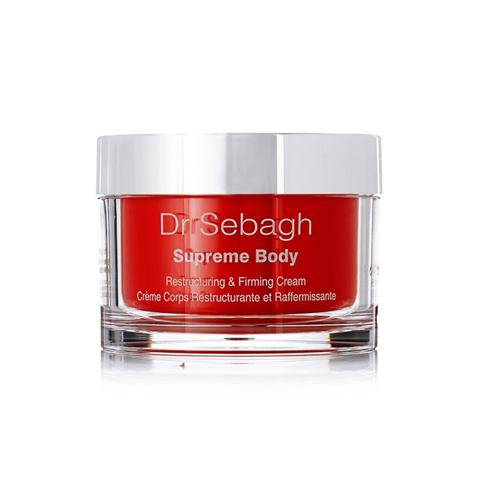 "Dr Sebagh supreme body cream, $218 at [NET-A-PORTER](https://www.net-a-porter.com/au/en/product/608456/Dr_Sebagh/supreme-body-restructuring-firming-cream-200ml|target=""_blank""