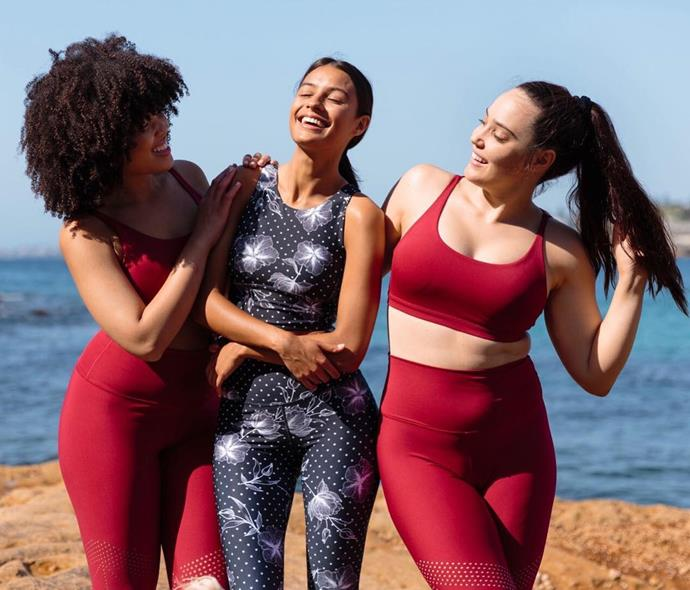 """**NIMBLE**<BR><BR> Started by two best friends, Katia and Vera, [Nimble](https://nimbleactivewear.com/