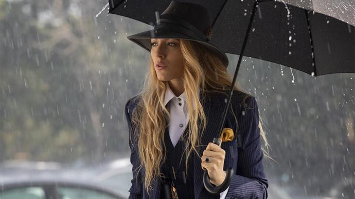 "***A Simple Favour* (2018)** <br><br> Although it didn't exactly attract rave reviews, *A Simple Favour* was a fashion tour de force thanks to Blake Lively's character, a troubled fashion industry employee who dresses exclusively in three-piece power suits inspired by the film's director, Paul Feig, who wears suits even on his days off. Lively embraced the film's aesthetic for the press tour, donning a series of candy-coloured [menswear looks](https://www.harpersbazaar.com.au/fashion/blake-lively-a-simple-favour-press-outfits-17194|target=""_blank"")."