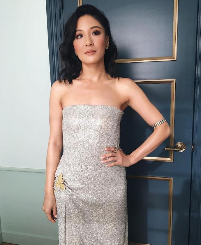 **Rachel Chu: Constance Wu** <br><br> The film's protagonist will obviously be making her return, and we can't wait to see her in a wedding dress.