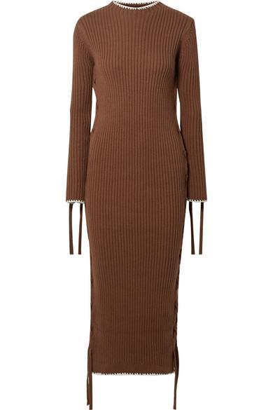 "**Buy:** Ribbed Cotton Dress by Malene Birger, $481 at [NET-A-PORTER](https://www.net-a-porter.com/au/en/product/1127012/by_malene_birger/lace-up-ribbed-cotton-dress|target=""_blank""|rel=""nofollow"")   Maxi Shirt Dress by Jil Sander, $1,806 at [Farfetch](https://www.farfetch.com/au/shopping/women/jil-sander-maxi-shirt-dress-item-13741587.aspx?storeid=9564|target=""_blank""|rel=""nofollow"")"