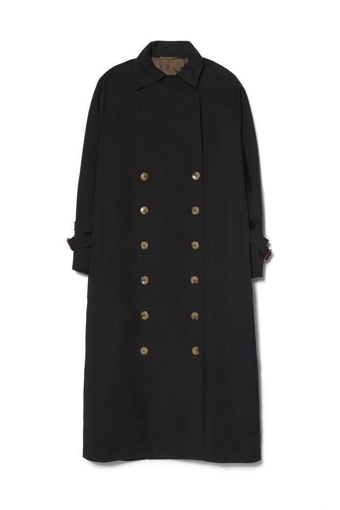 "**Buy:** Black Trench Coat by Totême, $995 at [SSENSE](https://www.ssense.com/en-au/women/product/totme/black-pisa-trench-coat/3700999?gclid=CjwKCAjwv6blBRBzEiwAihbM-VcoLjX365bB0uxXD4Gvz_YzmKRkm9kw3RIR-HXUFL3o6pMW4ftYFhoC0FIQAvD_BwE|target=""_blank""|rel=""nofollow"")   Paris Wool Mixed-Media Coat by Anna October, $920 at [Moda Operandi](https://www.modaoperandi.com/anna-october-fw19/paris-wool-texture-blocked-mixed-media-coat|target=""_blank""|rel=""nofollow"")"