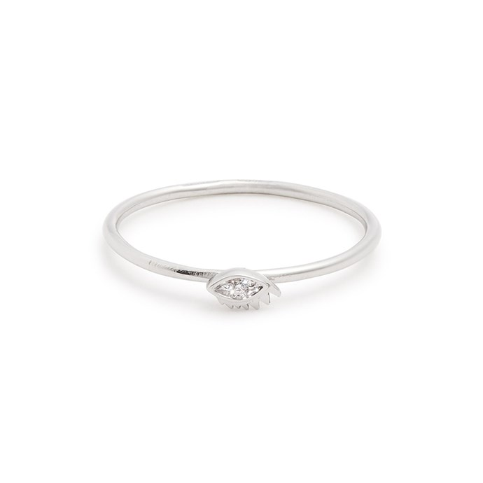 """Diamond and white gold ring by Delfina Delettrez, $590 at [MATCHESFASHION.COM](https://www.matchesfashion.com/au/products/Delfina-Delettrez-Diamond-%26-white-gold-ring-1203704