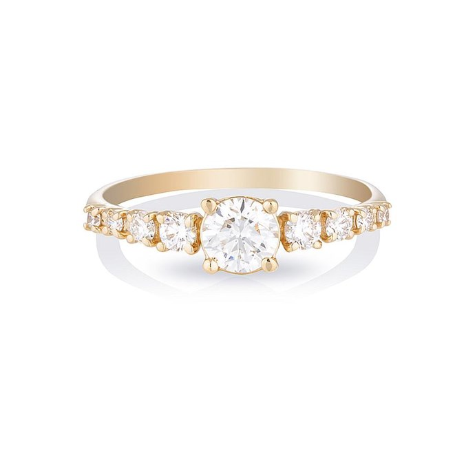 """Maya ring, $6,800 at [HLSK](https://hlsk.com.au/collections/engagement-1/products/maya-large-ii-diamonds