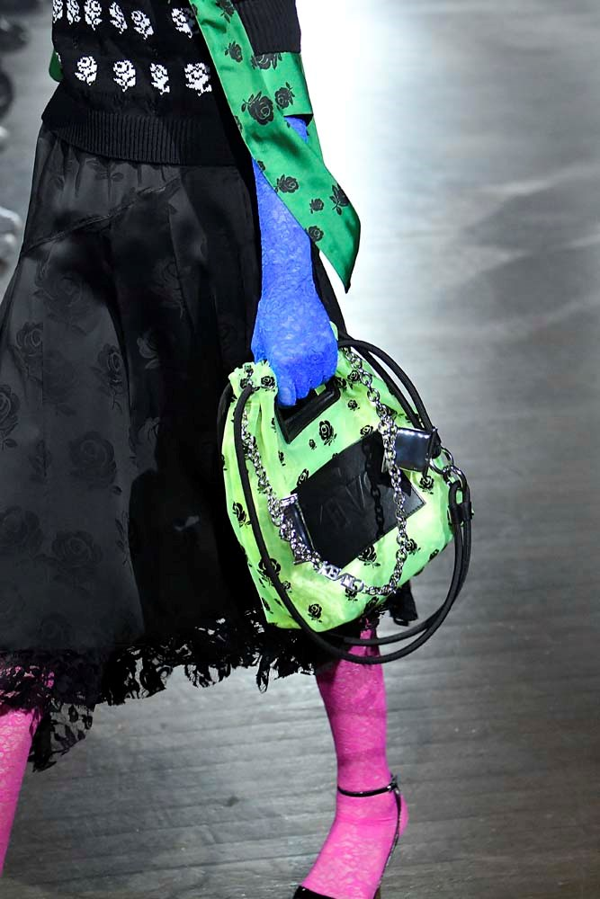 ***NEON***<br><br> Glow-in-the-dark or not, you'll be spotting some of this season's hottest trend—neon—on festival-goers.<br><br> *Pictured: Kenzo spring/summer '19.*